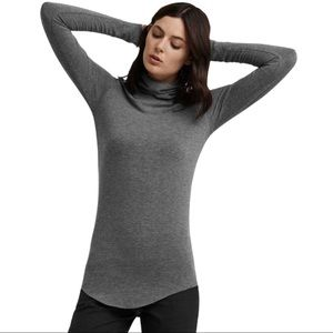 Kit and Ace Ahrens long sleeve mock neck top